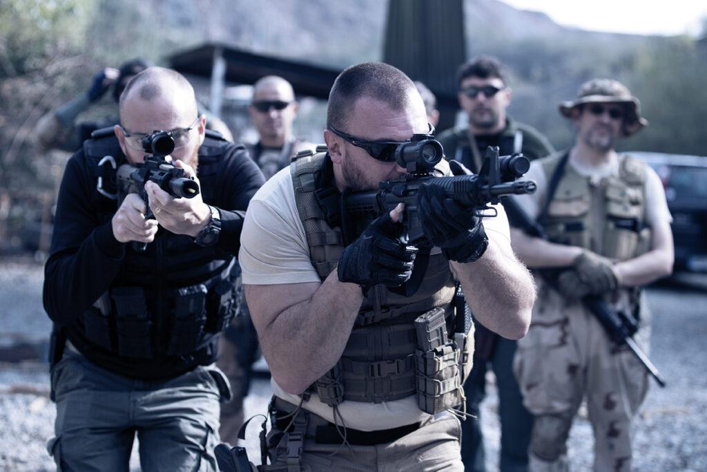corso tcs tiro operativo tactical combat shooting