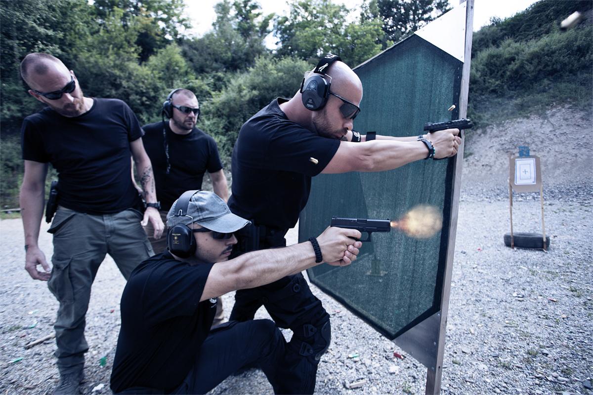 Slide TCS: Tactical Combat Shooting® | Krav Maga Academy