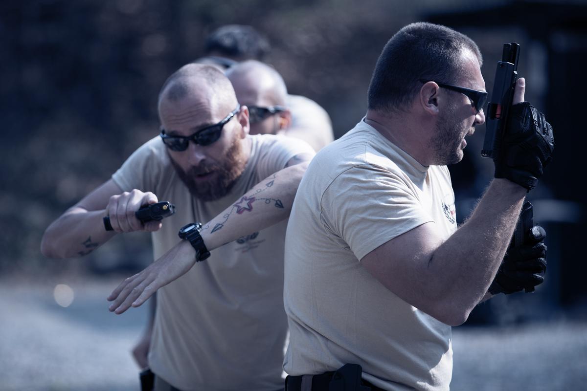 transizione con pistola nei corsi tcs