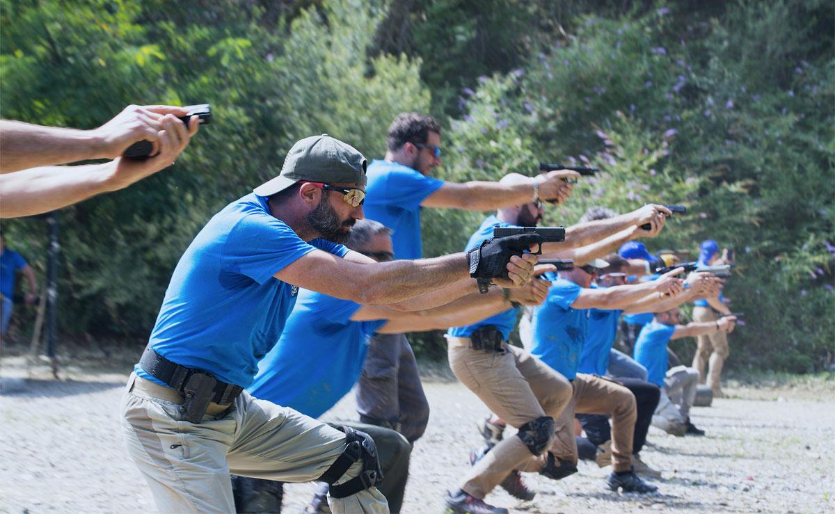 gruppo tcs pistol tiro operativo