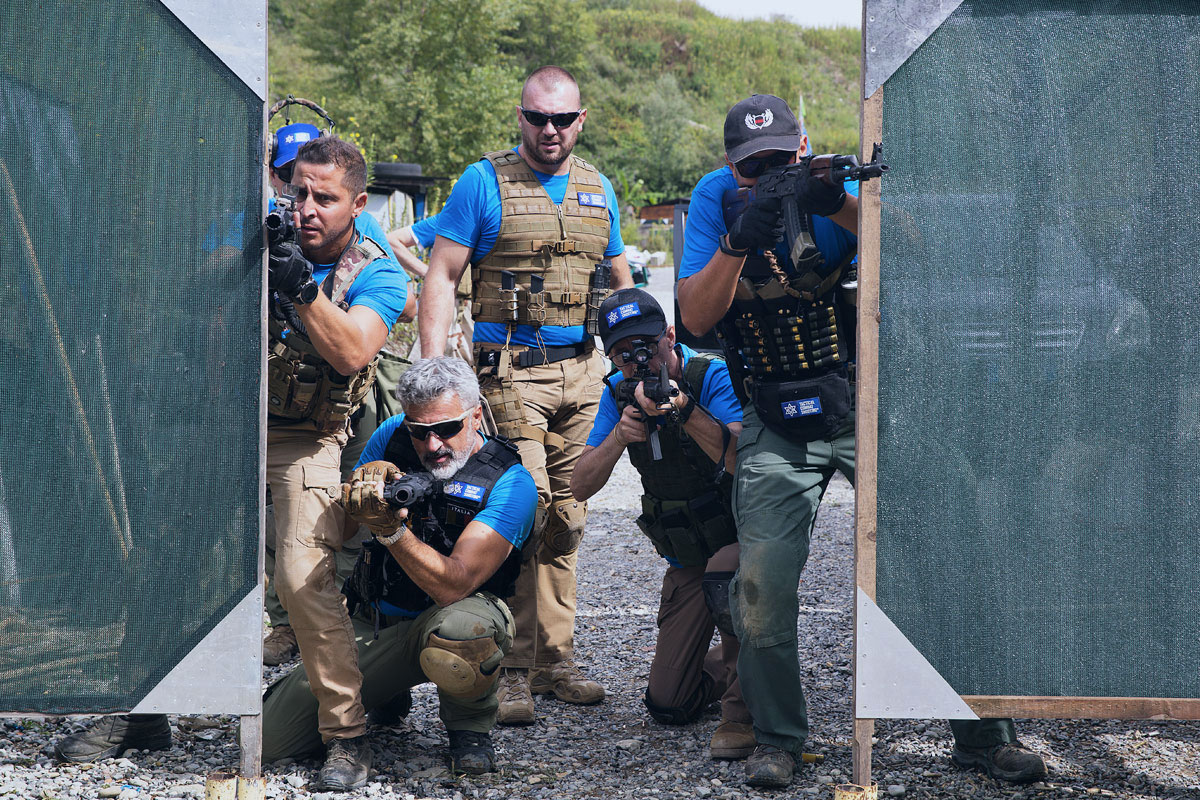 team istruttori tcs tiro operativo israeliano